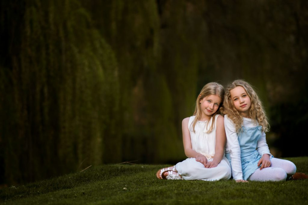Outdoors children photographer in Bournemouth and Poole