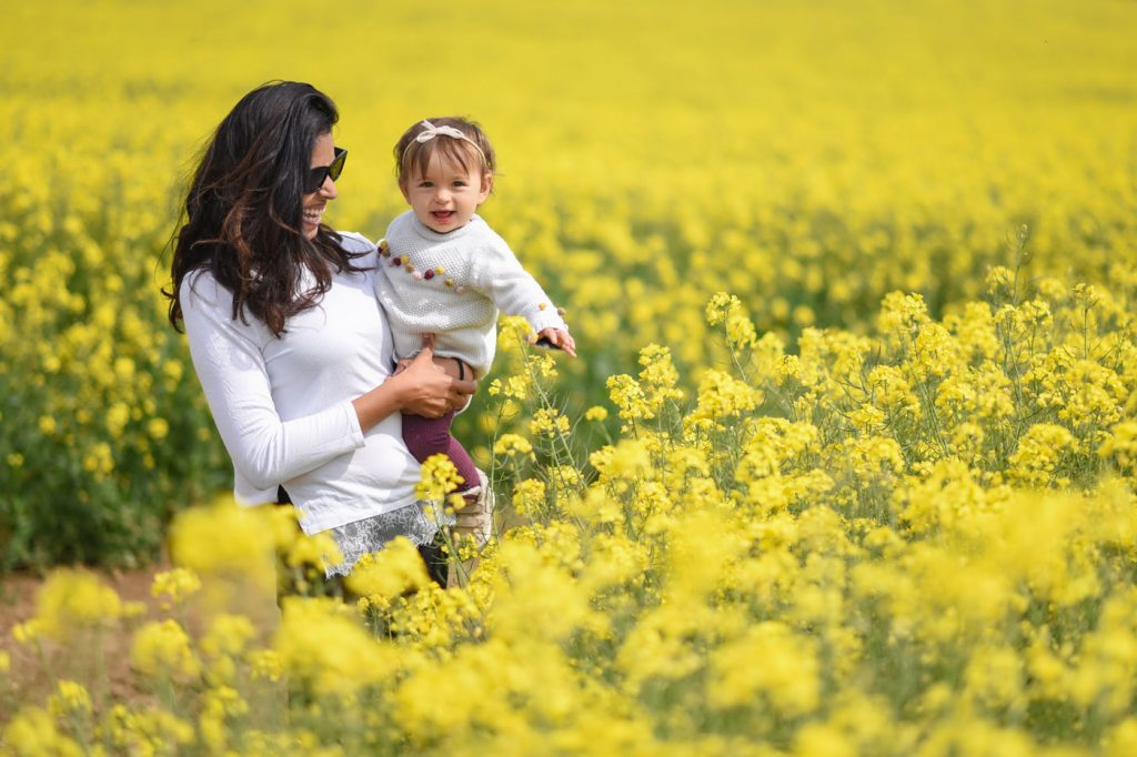 On-location baby photographer in Dorset