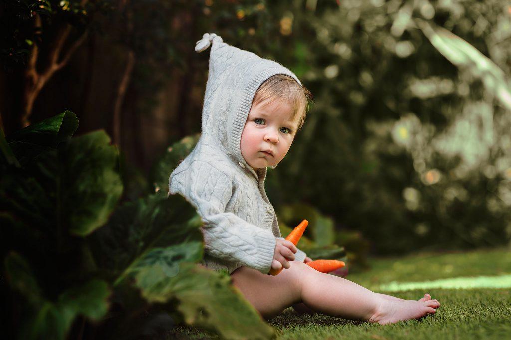 Outdoor baby photographer in Dorset