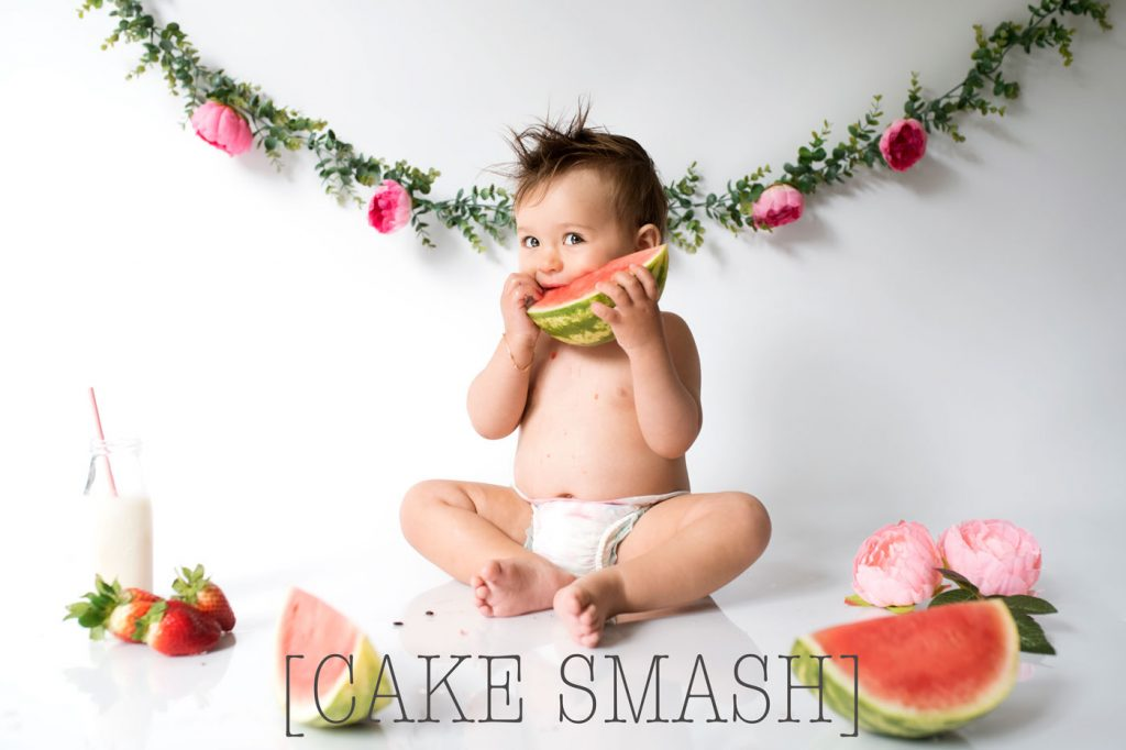 Boho cake smash and sitter sessions in Poole and Bournemouth